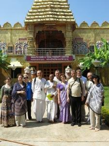В колледже изучения санскрита в г.Тирупати.